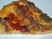 Pizza escalivada atún anchoas