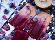 Polos bicolor kiwi, paraguaya frutos bosque