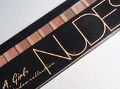 Nudes Palette Swatches Review L.A. Girl