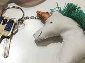 Hacemos llavero unicornio