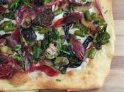Pizza Blanca Bimi, Setas Jamón Ibérico Aceite Trufa