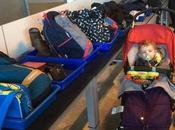 Viajar niños avión morir intento