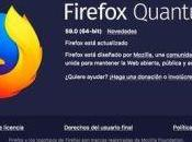 Firefox Quantum modifica otra interfaz aumenta rendimiento