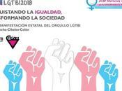 Madrid. manifestación estatal Orgullo LGTBI reivindica derechos personas trans