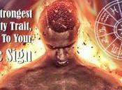 rasgo personalidad fuerte según signo zodiaco
