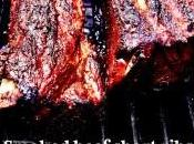 Smoked beef short ribs Costillas vaca ahumadas