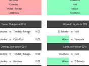 Calendario seleccion mexicana juegos centroamericanos 2018