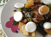 Ensalada judías patatas aliño mostaza recetas, bloguers