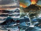 guerra importante entre Atlántida Lemuria