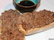 Tosta ternera salsa teriyaki
