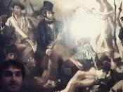 "Eugene Delacroix: libertad guiando pueblo"""