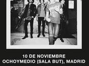 Conciertos Metric Madrid Barcelona noviembre