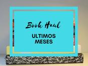 Blog Book Haul últimos meses