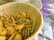 Patatas judias verdes (guarnicion para carne pescado)