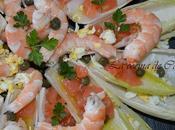 Ensalada endivias salmón