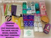 Compras cost Primor (3x2 mascarillas faciales, Saem, Fruit Company, Kallos, Revuele, Pilaten, Naruko, Revox, Holika Holika...)