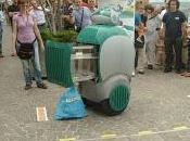 Wall-E Italiano, robot recolector basura