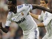mano Adebayor, Real Madrid tiene medio semifinales
