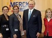 Stefan Oschmann, visita Merck España cumplir días como presidente Serono