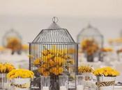 Inspiración: centros jaulas flores