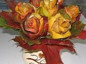 Deco-recicla: hacer ramos rosas hojas