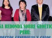 BALANCE MESA REDONDA SOBRE GEOÉTICA PERÚ: ASPECTOS GENERALES CASOS ESTUDIO