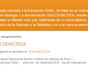 Geolodáctica: iniciativa busca mejorar enseñanza Geología universidades colegios
