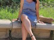 Vestido Rayas Azul