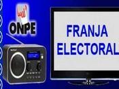 Franja electoral...