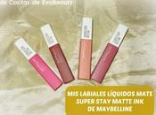 labiales líquidos mate SUPER STAY MATTE Maybelline