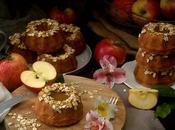 Vegan Apple Oats Mini Bundt Cakes #BundtBakers