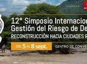 Simposio Internacional Gestión Riesgo Desastres Lima. Septiembre