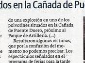 tragedia polvorín Pinar Antequera