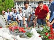 "Ofrenda floral homenaje ""manolete"" lxxi aniversario tragedia linares"