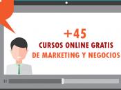 Cursos online GRATIS marketing negocios [+45 CURSOS]