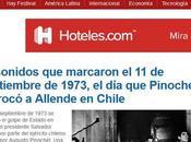 Once sonidos golpe estado pinochet acabó gobierno salvador allende chile