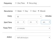 Análisis datos MathWorks Netduino