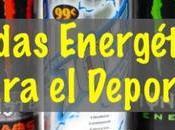 Bebidas energética deporte