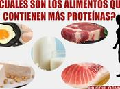 ¿Qué alimentos contienen proteínas para aumentar masa muscular?