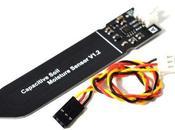 Medida humedad terreno sensor capacitivo