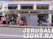 Postal Israel: tranvía Jerusalén