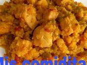 Arroz coliflor pollo