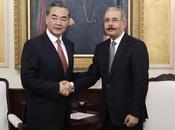 Danilo Medina recibe este viernes visita canciller China.