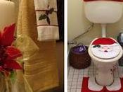 Hermosas ideas cómo decorar baño navidad