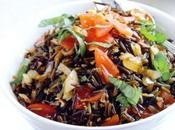 Receta arroz salvaje verduritas