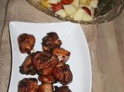 Pollo salsa barbacoa