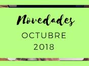 Novedades: Octubre 2018