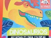 estás leyendo.- Album Ilustrado.- Picarona.- Dinosaurios. Recortables JONATHAN WOODWARD.
