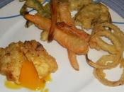 Huevos fritos tempura