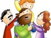 Llevemos niños Jesús aceptemos reino Dios como
